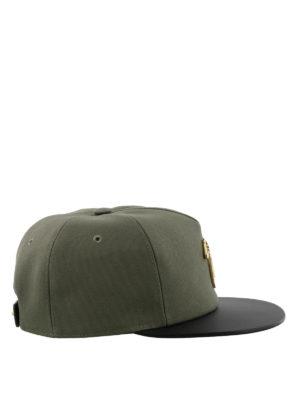 GIUSEPPE ZANOTTI: cappelli online - Cappellino Kenneth verde militare