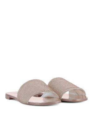 GIUSEPPE ZANOTTI: sandali online - Sandali Adelia tempestati di strass