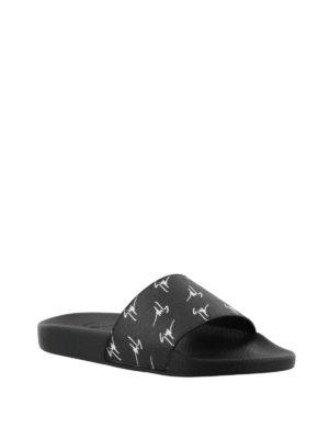 GIUSEPPE ZANOTTI: sandali online - Sandali Brett in tessuto firmato