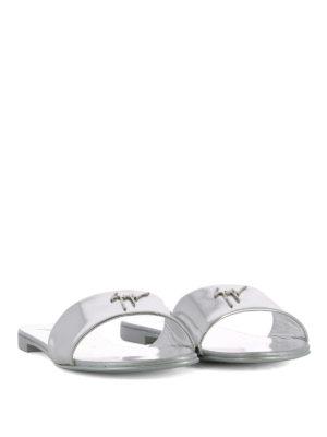 GIUSEPPE ZANOTTI: sandali online - Sandali Shirley in pelle specchiata