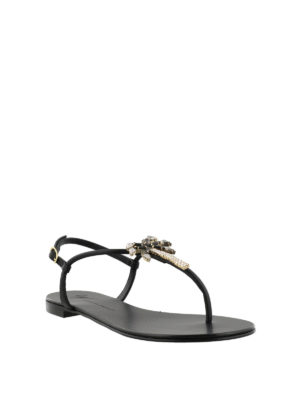 GIUSEPPE ZANOTTI: sandali online - Sandali piatti Venice Beach