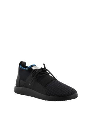 GIUSEPPE ZANOTTI: sneakers online - Sneaker Cory in tessuto e neoprene