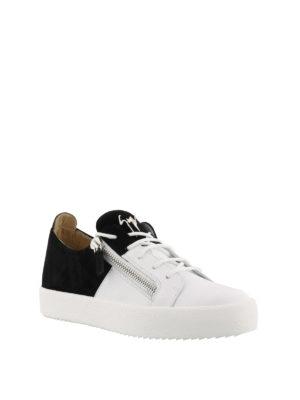 GIUSEPPE ZANOTTI: sneakers online - Sneaker Double bianche e nere