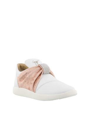 GIUSEPPE ZANOTTI: sneakers online - Sneaker slip on con fascia preziosa