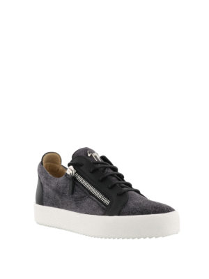 GIUSEPPE ZANOTTI: sneakers online - Sneaker nere Frankie