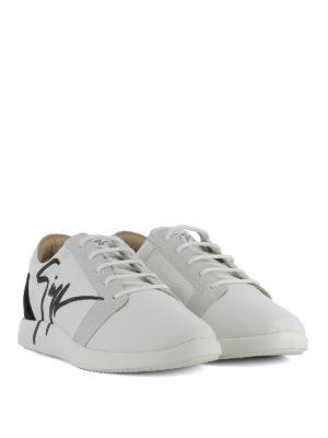 GIUSEPPE ZANOTTI: sneakers online - Sneaker G Runner in pelle e suede