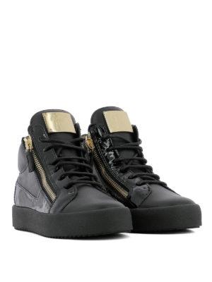 GIUSEPPE ZANOTTI: sneakers online - Sneaker Kriss in pelle e vernice
