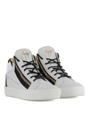 GIUSEPPE ZANOTTI: sneakers online - Sneaker Kriss bianche e nere