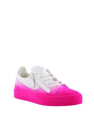 GIUSEPPE ZANOTTI: sneakers online - Sneaker New Unfinished fucsia