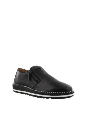 GIUSEPPE ZANOTTI: sneakers online - Sneaker slip on Ron in nappa