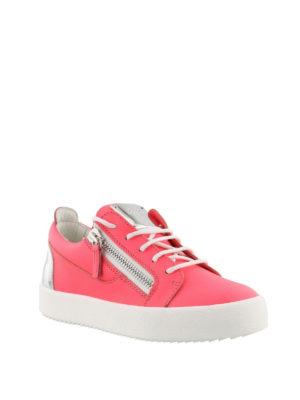 GIUSEPPE ZANOTTI: sneakers online - Sneaker in pelle bicolore