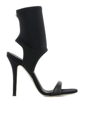 Giuseppe Zanotti: sandals - Agnes neoprene sandals