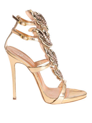 Giuseppe Zanotti: sandals - Cruel embellished open-toe sandals