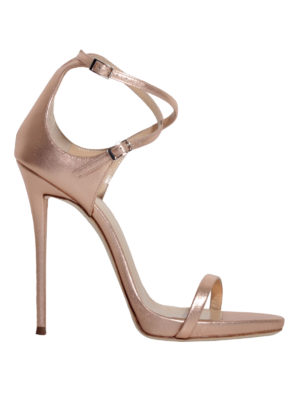 Giuseppe Zanotti: sandals - Darcie Metallic leather sandals