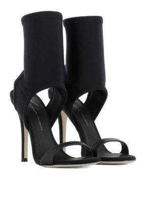 Giuseppe Zanotti: sandals online - Agnes neoprene sandals