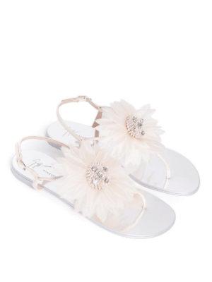 Giuseppe Zanotti: sandals online - Annemarie maxi flower sandals