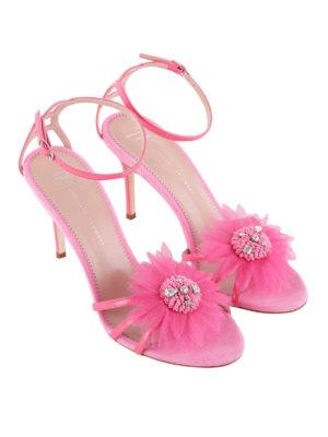 Giuseppe Zanotti: sandals online - Annemarie sandals with flower