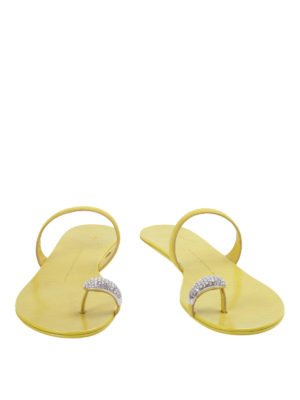 Giuseppe Zanotti: sandals online - Ring embellished sandals