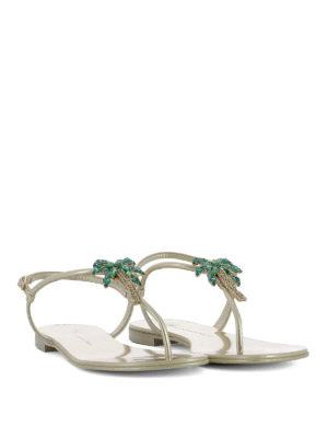 Giuseppe Zanotti: sandals online - Venice Beach leather sandals