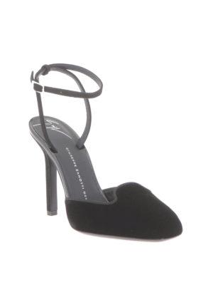 Giuseppe Zanotti: sandals online - Veronica velvet sandals