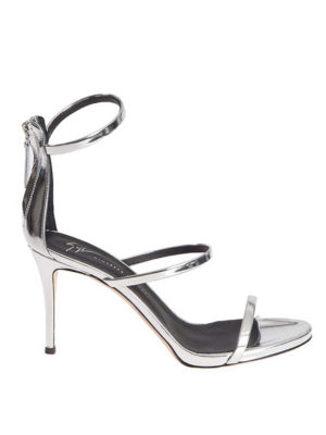 Giuseppe Zanotti: sandals - Patent sandals with bands