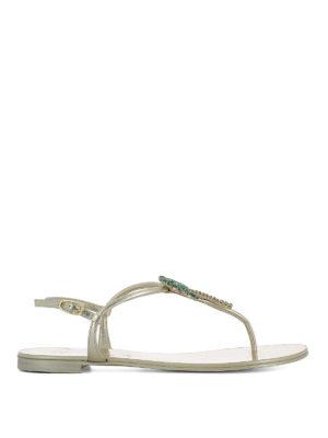 Giuseppe Zanotti: sandals - Venice Beach leather sandals