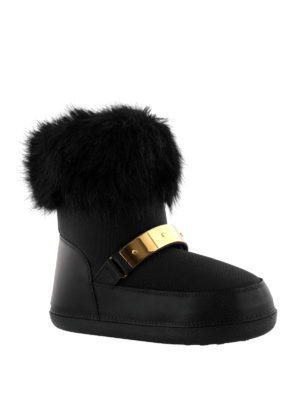 Giuseppe Zanotti: snow boots online - Sestriere fur trimmed snow boots