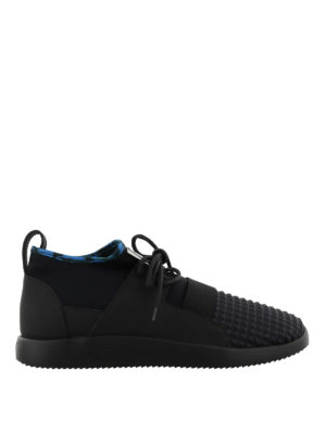 GIUSEPPE ZANOTTI: sneakers - Sneaker Cory in tessuto e neoprene