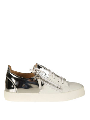 Giuseppe Zanotti: trainers - Double leather sneakers
