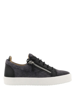 GIUSEPPE ZANOTTI: sneakers - Sneaker nere Frankie