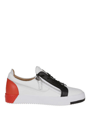 9e97d8948c86 GIUSEPPE ZANOTTI  sneakers - Sneaker Frankie in pelle color block