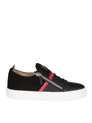 892480b171813e GIUSEPPE ZANOTTI: sneakers - Sneaker Frankie in pelle e camoscio