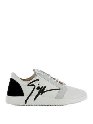 Giuseppe Zanotti: trainers - G Runner leather sneakers