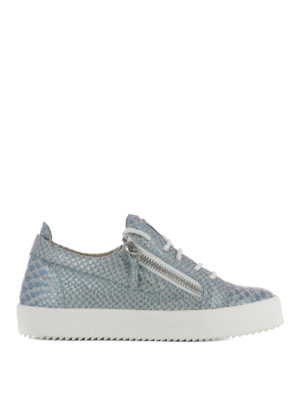 Giuseppe Zanotti: trainers - Gail embossed leather sneakers