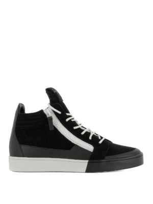 Giuseppe Zanotti: trainers - Jess leather sneakers