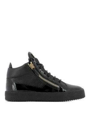 GIUSEPPE ZANOTTI: sneakers - Sneaker Kriss in pelle e vernice
