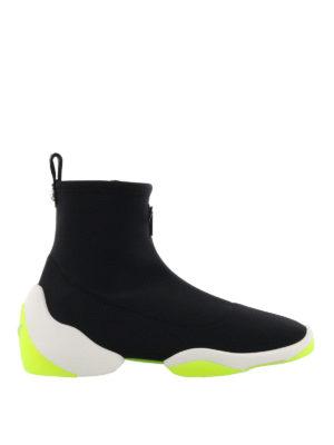 GIUSEPPE ZANOTTI: sneakers - Sneaker nere Light Jump HT1
