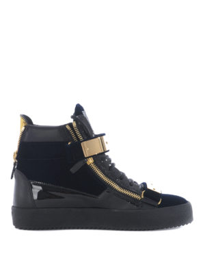 Giuseppe Zanotti: trainers - May London high top sneakers