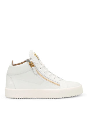 Giuseppe Zanotti: trainers - May London leather sneakers