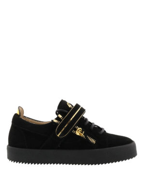 Giuseppe Zanotti: trainers - Mick suede sneakers