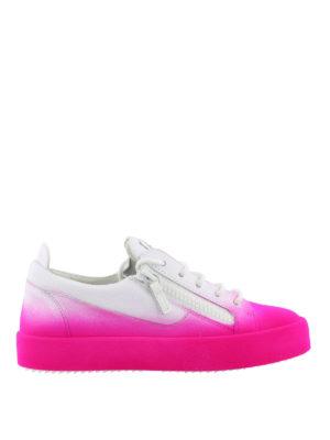 GIUSEPPE ZANOTTI: sneakers - Sneaker New Unfinished fucsia