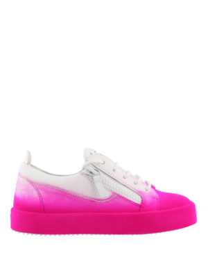 GIUSEPPE ZANOTTI: sneakers - Sneaker New Unfinished in pelle