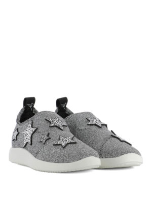 Giuseppe Zanotti: trainers online - Alena Star fabric slip-on sneakers
