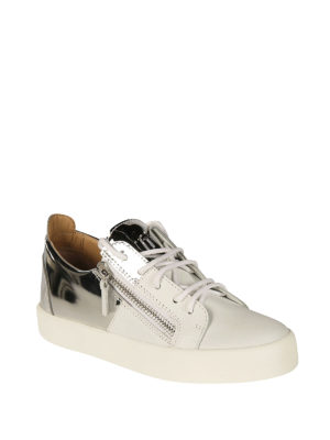 Giuseppe Zanotti: trainers online - Double leather sneakers