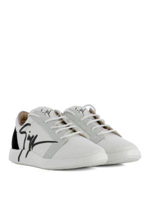 Giuseppe Zanotti: trainers online - G Runner leather sneakers
