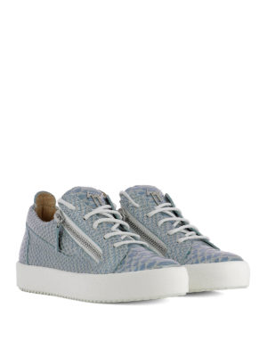 Giuseppe Zanotti: trainers online - Gail embossed leather sneakers