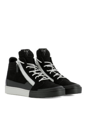 Giuseppe Zanotti: trainers online - Jess leather sneakers