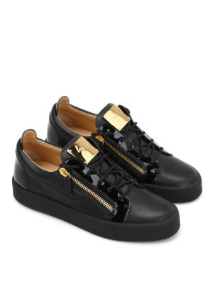 Giuseppe Zanotti: trainers online - Leather low top sneakers