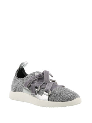 Giuseppe Zanotti: trainers online - Maggie glittered slip-on sneakers