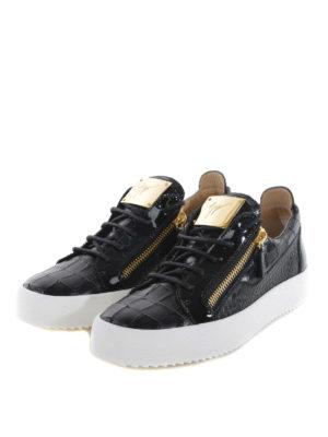 Giuseppe Zanotti: trainers online - May London croco print sneakers